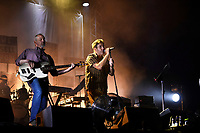 LONDON, ENGLAND - SEPTEMBER 7: Horace Panter and Terry Hall of 'The Specials' performing at Gunnersville, Gunnersbury Park on September 7, 2019 in London, England.<br /> CAP/MAR<br /> ©MAR/Capital Pictures