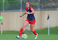 Boyds, MD - Saturday July 09, 2016: Cali Farquharson during a regular season National Women's Soccer League (NWSL) match between the Washington Spirit and the Chicago Red Stars at Maureen Hendricks Field, Maryland SoccerPlex.