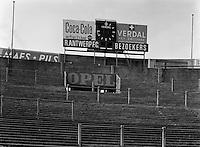 September 1962. Stadion voetbalclub Royal Antwerp FC.
