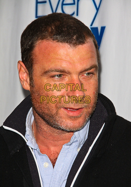 "LIEV SCHREIBER .""Every Day"" Los Angeles Premiere held at The Landmark Theater, Los Angeles, California, USA. .January 11th, 2010.headshot portrait blue black stubble facial hair .CAP/ADM/TC.©T. Conrad/AdMedia/Capital Pictures."