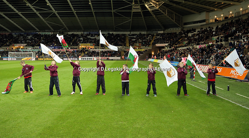 Sunday, 28 November 2012<br /> Pictured: <br /> Re: Barclays Premier League, Swansea City FC v West Bromwich Albion at the Liberty Stadium, south Wales.