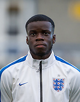 Stephy Mavididi (Preston North End, on loan from Arsenal) of England U20 during the International friendly match between England U20 and Netherlands U20 at New Bucks Head, Telford, England on 31 August 2017. Photo by Andy Rowland.
