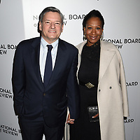 08 January 2020 - New York, New York - Ted Sarandos and Nicole Avant at the National Board of Review Annual Awards Gala, held at Cipriani 42nd Street. Photo Credit: LJ Fotos/AdMedia