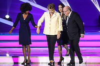 COSTA DO SAUIPE, BA, 06.12.2013 - COPA 2014 - SORTEIO FINAL DA COPA DO MUNDO 2014 - Rodrigo Hilbert, Dilma Rousseff, Joseph Blatter e Fernanda Lima durante o sorteio Final da Copa do Mundo de 2014 na Costa do Sauipe litoral norte da Bahia, nesta sexta-feira, 06. (Foto: William Volcov / Brazil Photo Press).