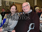 John and Mary King at the St Peters Male Voice Choir concert in the new Drumshallon Forge. Photo:Colin Bell/pressphotos.ie