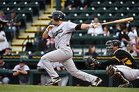Jupiter Hammerheads third baseman Ross Wilson (3) during a game against the Bradenton Marauders on April 19, 2014 at McKechnie Field in Bradenton, Florida.  Bradenton defeated Jupiter 4-0.  (Mike Janes/Four Seam Images)