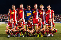 Western New York Flash starting eleven. The Portland Thorns defeated the Western New York Flash 2-0 during the National Women's Soccer League (NWSL) finals at Sahlen's Stadium in Rochester, NY, on August 31, 2013.