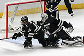 Josh Wilkins (PC - 15), Hayden Hawkey (PC - 31) - The Harvard University Crimson defeated the Providence College Friars 3-0 in their NCAA East regional semi-final on Friday, March 24, 2017, at Dunkin' Donuts Center in Providence, Rhode Island.