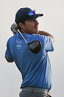 Joel Dahmen (USA) watches his tee shot on 11 during day 1 of the Valero Texas Open, at the TPC San Antonio Oaks Course, San Antonio, Texas, USA. 4/4/2019.<br /> Picture: Golffile | Ken Murray<br /> <br /> <br /> All photo usage must carry mandatory copyright credit (© Golffile | Ken Murray)