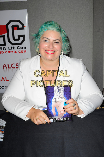 LONDON, ENGLAND - JULY 13: Holly Black attending London Film and Comic Con 2014 at Earls Court on July 13, 2014 in London, England.<br /> CAP/MAR<br /> &copy; Martin Harris/Capital Pictures