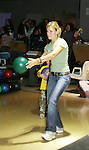 "Guiding Light's  Beth Ehlers ""Harley"" bowls at the ""Bloss"" Bowling Event during the Guiding Light weekend on October 15, 2005 at the Port Authority, NY (Photo by Sue Coflin)"