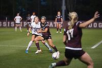 MSU Soccer vs. Samford - Super Bulldog Weekend exhibition game.<br />  (photo by Megan Bean / &copy; Mississippi State University)