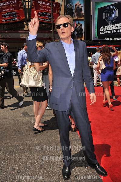 "Bill Nighy at the world premiere of ""G-Force"" at the El Capitan Theatre, Hollywood..July 19, 2009  Los Angeles, CA.Picture: Paul Smith / Featureflash"