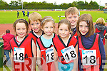 Pictured at the Kerry Community Games finals at Castleisland on Saturday were from Fossa Emma Griffin Harry Kelly, Grace Morris, Melissa Ahern, Jack Clifford, Abbie Murphy..
