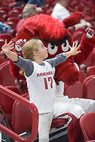 NWA Democrat-Gazette/ANDY SHUPE<br /> Arkansas Abilene Christian Wednesday, Nov. 29, 2017, during the second half in Bud Walton Arena. Visit nwadg.com/photos to see more photographs from the game.