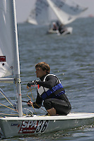 20th SPA Regatta - Medemblik.26-30 May 2004..Copyright free image for editorial use. Please credit Peter Bentley..Evangelos Chimonas - GRE