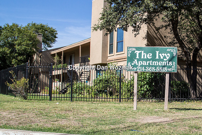 The first person to be die in the US, Thomas Eric Duncan, lived in The Ivy Apartments.
