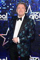 Alan Titchmarsh arriving for the Global Awards 2018 at the Apollo Hammersmith, London, UK. <br /> 01 March  2018<br /> Picture: Steve Vas/Featureflash/SilverHub 0208 004 5359 sales@silverhubmedia.com