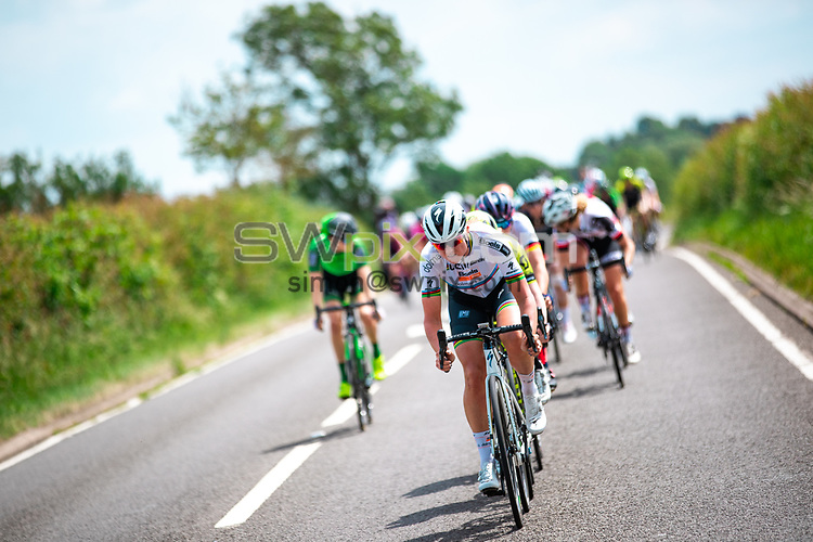 Picture by Alex Whitehead/SWpix.com - 15/06/2018 - Cycling - 2018 OVO Energy Women's Tour - Stage 3, Atherstone to Royal Leamington Spa - Chantal Blaak of Boels Dolmans.