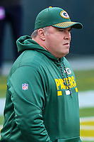Green Bay Packers head coach Mike McCarthy during a National Football League game against the Tampa Bay Buccaneers on December 2nd, 2017 at Lambeau Field in Green Bay, Wisconsin. Green Bay defeated Tampa Bay 26-20. (Brad Krause/Krause Sports Photography)