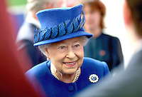 08 March 2016 - London, England - Queen Elizabeth II smiles as she meets people being helped by the Prince's Trust at the Prince's Trust Centre in Kennington in London. Photo Credit: Alpha Press/AdMedia