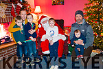 At Santas grotto organised by Inter Kenmare. Aisling, Eoghan, Cathal, Fionn, Thady and Mairead O'Sullivan