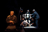 LONDON, ENGLAND - Shun-kin at the Barbican, directed by Simon McBurney for Complicite, Yoshi Oida as Old Sasuke