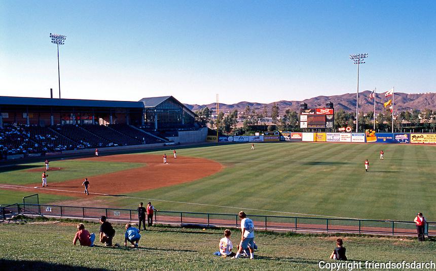 Ballparks: Lake Elsinore Diamond. Panorama 1.