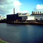Brains brewery, River Taff, Cardiff, Wales