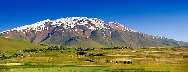 Mount Süphan  , the second highest Volcano in Turkey After Arat at 4058m. North Shore of Lake Van, Turkey 2