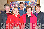 ATTENDING: Jack Crean, Bridget and Pat O'Connor, Nora Crean and Frances O'Connor all from Camp attending the Kerry IFA AGM in the Manor West hotel on Thursday.