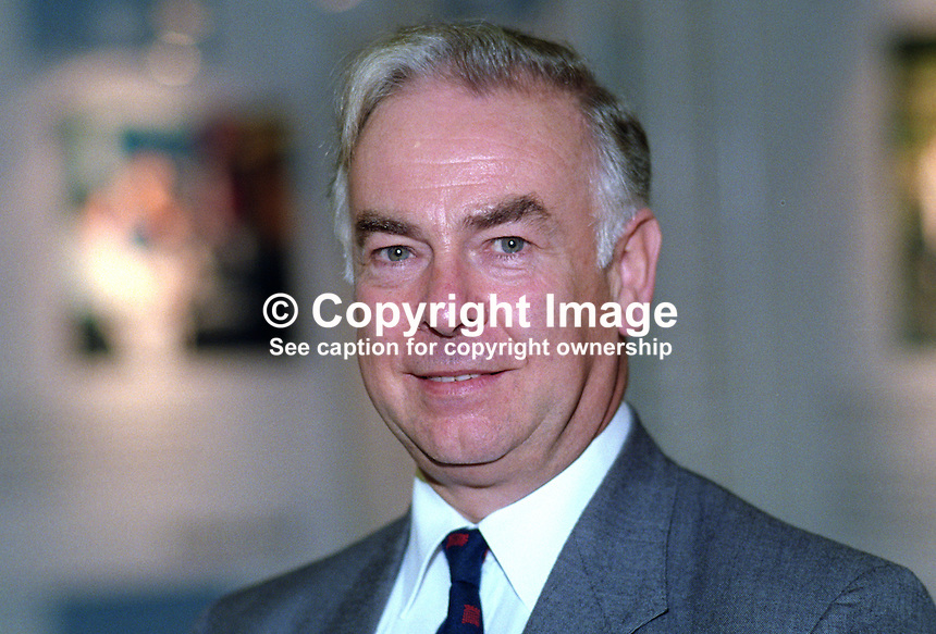 Dr Michael Clark, MP, Conservative Party, UK, at annual conference, October 1992. 19921071MC..Copyright Image from Victor Patterson, 54 Dorchester Park, Belfast, UK, BT9 6RJ..Tel: +44 28 9066 1296.Mob: +44 7802 353836.Voicemail +44 20 8816 7153.Skype: victorpattersonbelfast.Email: victorpatterson@me.com.Email: victorpatterson@ireland.com (back-up)..IMPORTANT: If you wish to use this image or any other of my images please go to www.victorpatterson.com and click on the Terms & Conditions. Then contact me by email or phone with the reference number(s) of the image(s) concerned.