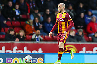 Nicky Law of Bradford City during the Sky Bet League 1 match between Blackburn Rovers and Bradford City at Ewood Park, Blackburn, England on 29 March 2018. Photo by Thomas Gadd.