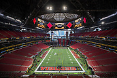 January 8th 2018, Atlanta, GA, USA; A general view of the field prior to the CFP National Championship game between the Alabama Crimson Tide and Georgia Bulldogs on January 8, 2018 at Mercedes-Benz Stadium in Atlanta, GA.