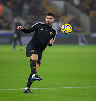 27th December 2019; Molineux Stadium, Wolverhampton, West Midlands, England; English Premier League, Wolverhampton Wanderers versus Manchester City; Ruben Neves of Wolverhampton Wanderers during the warm up - Strictly Editorial Use Only. No use with unauthorized audio, video, data, fixture lists, club/league logos or 'live' services. Online in-match use limited to 120 images, no video emulation. No use in betting, games or single club/league/player publications