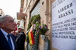 Pietro Grasso a Palermo per ricordare Libero Grassi