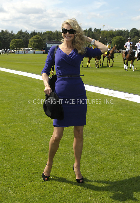 WWW.ACEPIXS.COM . . . . .  ..... . . . . US SALES ONLY . . . . .....July 24 2011, Windsor....Christie Brinkley at Cartier International Polo Day 2011 at Guards Polo Club on July 24 2011 in Windsor, England......Please byline: FAMOUS-ACE PICTURES... . . . .  ....Ace Pictures, Inc:  ..Tel: (212) 243-8787..e-mail: info@acepixs.com..web: http://www.acepixs.com