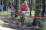 05.09.2015 La Massana Andorra. 201 UCI Mountain Bike World Champions.Picture show Dahle Flesjaa Gunn-Rita (NOR) in action during women ELite Cross-country Olympic World Champions