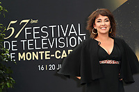 Stephanie PAREJA - Photocall 'PLUS BELLE LA VIE' - 57ème Festival de la Television de Monte-Carlo. Monte-Carlo, Monaco, 18/06/2017. # 57EME FESTIVAL DE LA TELEVISION DE MONTE-CARLO - PHOTOCALL 'PLUS BELLE LA VIE'
