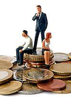 Scheiding, ruzie, geldproblemen
