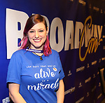 "Laura Heywood aka ""Broadway Girl"" During the BroadwayCON 2020 First Look at the New York Hilton Midtown Hotel on January 24, 2020 in New York City."