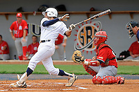 16 May 2010:  FIU's Garrett Wittels (10) bats in the first inning as the FIU Golden Panthers defeated the University of South Alabama Jaguars, 5-0, at University Park Stadium in Miami, Florida.  With his single in the fourth inning, Wittels tied Roger Schmuck (Arizona State, 1971) for third on the NCAA all-time consecutive hitting streak list.