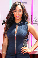 LOS ANGELES, CA, USA - JUNE 29: Actress Tamera Mowry arrives at the 2014 BET Awards held at Nokia Theatre L.A. Live on June 29, 2014 in Los Angeles, California, United States. (Photo by Xavier Collin/Celebrity Monitor)