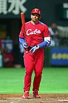 Erier Leon Sanchez (CUB), .MARCH 1, 2013 - WBC : .2013 World Baseball Classic .Exhibithion Game .between Fukuoka Softbank Hawks 8-10 Cube .at Yafuoku Dome, Fukuoka, Japan. .(Photo by YUTAKA/AFLO SPORT) [1040]