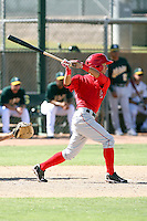 Rolando Gomez - Los Angeles Angels - 2010 Instructional League.Photo by:  Bill Mitchell/Four Seam Images..