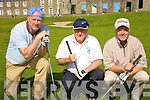 Paddy O'Donoghue, Tralee, Mick O'Neill, Kilflynn and Sean Carmody, Tralee taking part in the McKenna golf tournament at Ballyheigue golf club on Sunday....   Copyright Kerry's Eye 2008
