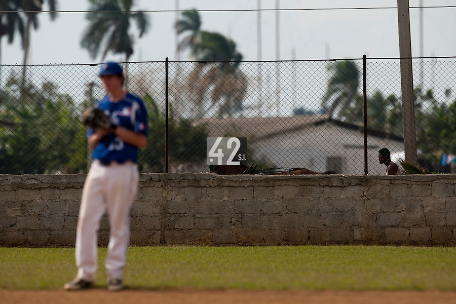 BASEBALL - POLES BASEBALL FRANCE - TRAINING CAMP CUBA - HAVANA (CUBA) - 13 TO 23/02/2009 - ILLUSTRATION