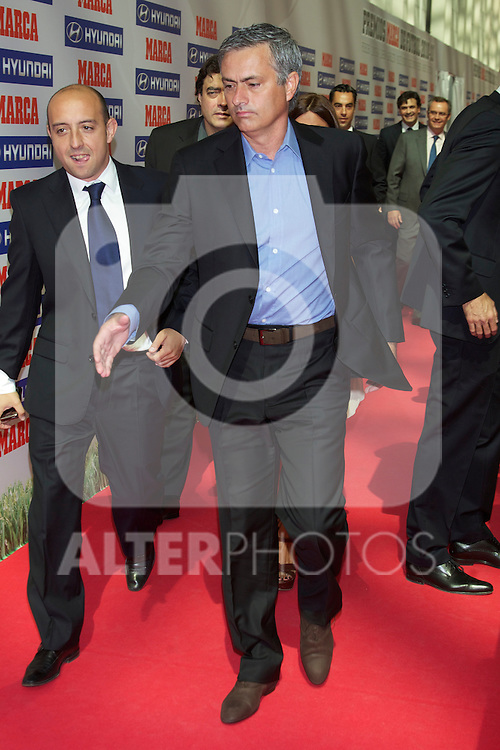 Premios Marca del Futbol 2011.  Jose Mourinho, best coach award...Photo: Cesar Cebolla / ALFAQUI