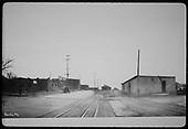 North end of Santa Fe railroad yards.<br /> D&amp;RGW  Santa Fe, NM
