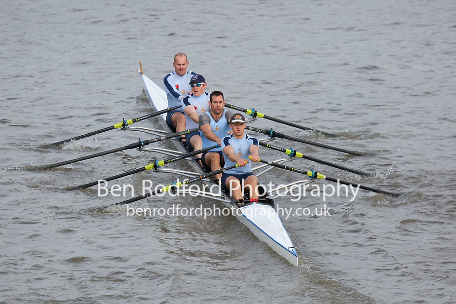 Crew: 7  Royal Air Force  B 4x<br /> <br /> Veteran Fours Head 2018<br /> <br /> To purchase this photo, or to see pricing information for Prints and Downloads, click the blue 'Add to Cart' button at the top-right of the page.